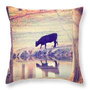 My Own Paradise Throw Pillow