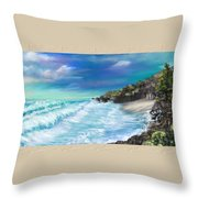 My Private Ocean Throw Pillow