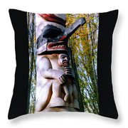 My Protector Throw Pillow