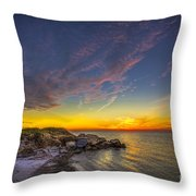 My Quiet Place Throw Pillow