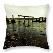 My Sea Of Ruins Throw Pillow by Marco Oliveira