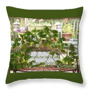 My Shamrocks Throw Pillow