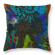 My Soul Is Free At Last Throw Pillow