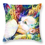 My Soul Throw Pillow