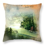 My Soul Longs For You Throw Pillow