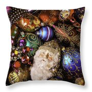My Special Christmas Ornaments Throw Pillow