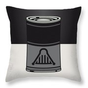 My Star Warhols Darth Vader Minimal Can Poster Throw Pillow