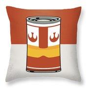 My Star Warhols Luke Skywalker Minimal Can Poster Throw Pillow