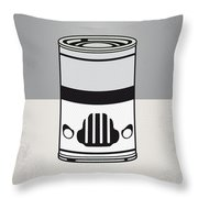 My Star Warhols Stormtrooper Minimal Can Poster Throw Pillow
