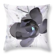 My Steel Magnolia Throw Pillow