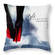 My Style Throw Pillow