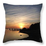 My Sunset Getaway Throw Pillow
