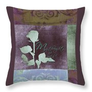 My Thoughts Are With You Card  Throw Pillow
