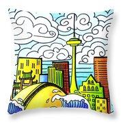 My Toronto Throw Pillow