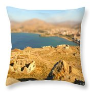 My Toy Castle Throw Pillow