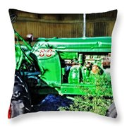 My Tractor Throw Pillow