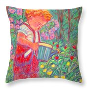My Turn Throw Pillow