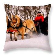 My Turn To Drive Throw Pillow