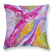 My Turn To Fly Throw Pillow