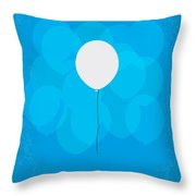 My Up Minimal Movie Poster Throw Pillow
