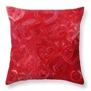 My Valentine Throw Pillow