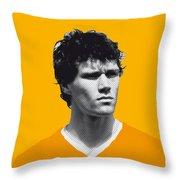 My Van Basten Soccer Legend Poster Throw Pillow