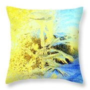 In My View This Is Beautiful, But It Is Also Extremely Cold  Throw Pillow by Hilde Widerberg