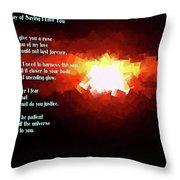My Way Of Saying I Love You  Throw Pillow