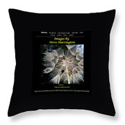 My Website Throw Pillow