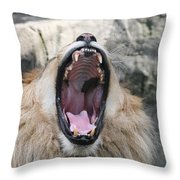 My What Big Teeth You Have Throw Pillow