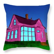 My Wife Likes Pink - After Throw Pillow