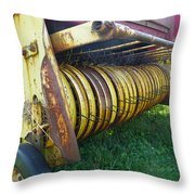 My Work Is Done Throw Pillow