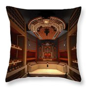 Myerson Symphony Center Auditorium - Dallas Throw Pillow