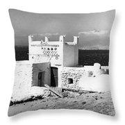 Mykonos Terrace.  Throw Pillow