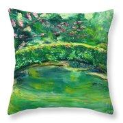 Mynelle Gardens Throw Pillow