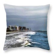 Myrtle Beach Throw Pillow