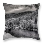 Myrtle Creek 2 Throw Pillow
