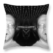 Myself And I Galatica Flight Deck Throw Pillow