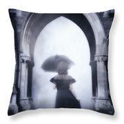 Mysterious Archway Throw Pillow by Joana Kruse