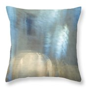 Mysterious Cave. Impressionism. Tnm Throw Pillow