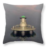 Mysterious Structure Throw Pillow