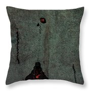 Mysterious Wall Throw Pillow