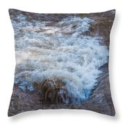 Mysterious Wave Throw Pillow