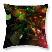 Mystery Throw Pillow by Angelina Tamez