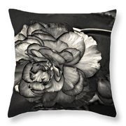 Mystery Girl Throw Pillow