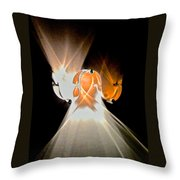 Kinetic Mysteries Throw Pillow