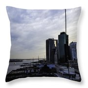 Mystery Of The Missing P Aka Pier 17 Throw Pillow