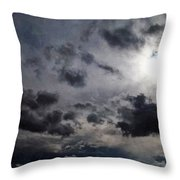 Mystery Of The Sky Throw Pillow by Glenn McCarthy Art and Photography