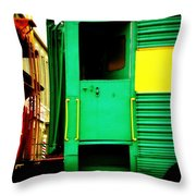 Mystery Ride Throw Pillow