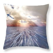 Mystery Sea Throw Pillow
